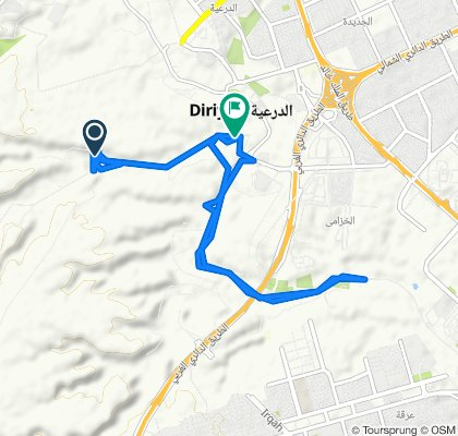 Relaxed route in الرياض