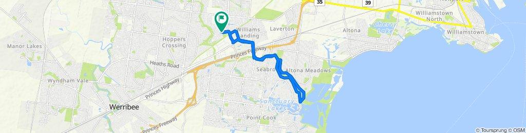 Arndell Park to Skeleton Creek round trip