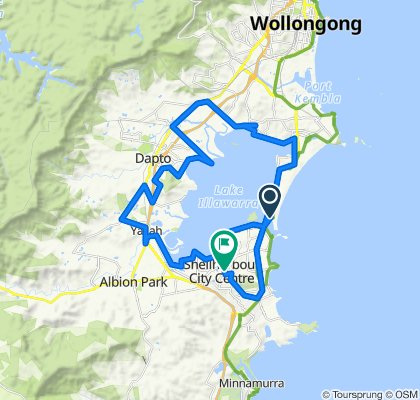 Fern Street 18, Windang to Lake Entrance Road 211, Shellharbour City Centre