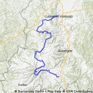 Clement-Ferrand - St. Flour