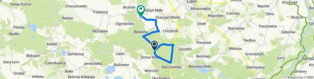 Restful route in Lubin