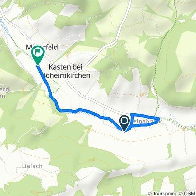 Restful route in Kasten bei Böheimkirchen