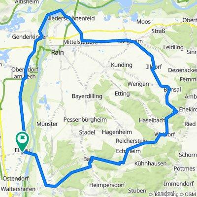 Ellgau-Echsheim-Illdorf-Niederschönenfeld-Oberndorf-Ellgau