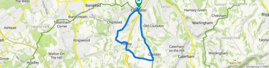 14 Malcolm Road, Coulsdon to 15 Malcolm Road, Coulsdon