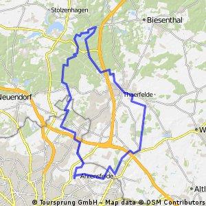 Malchower See - Bernau - Liepnitzsee