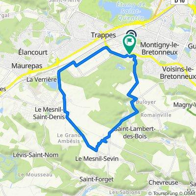 À vélo autour deMontigny-le-Bretonneux