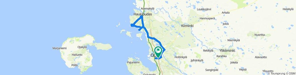 Karjaportintie 44, Oulu to Karjaportintie 46, Oulu