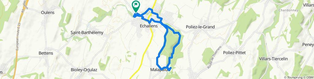 De Chemin des Bains 1, Echallens a Chemin des Bains 1, Echallens