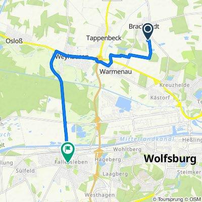 Schornsteinfegerweg 30, Wolfsburg nach Marktstraße 2, Wolfsburg