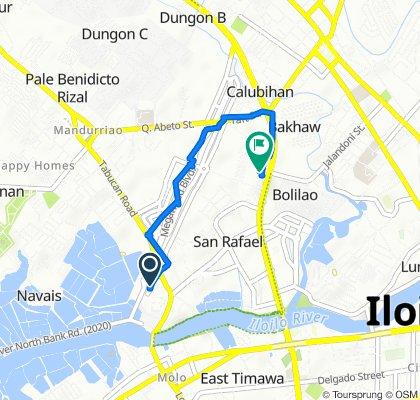 R. Mapa Street 103, Iloilo City to Benigno Aquino Avenue SM City, Iloilo City