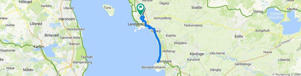 Easy ride in Landskrona
