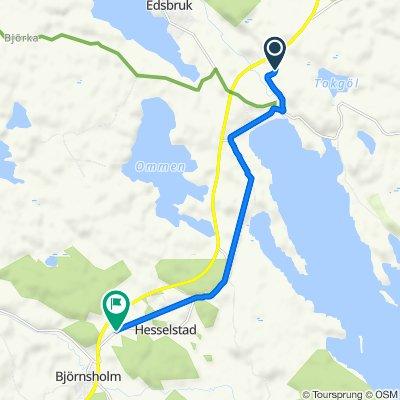 HÄLLEBERG 5 to Björnsholm
