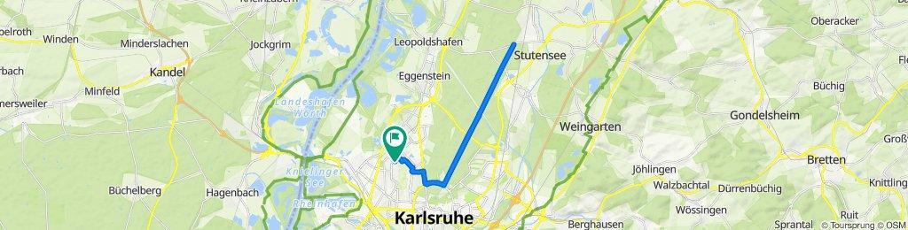 Cracking ride in Karlsruhe