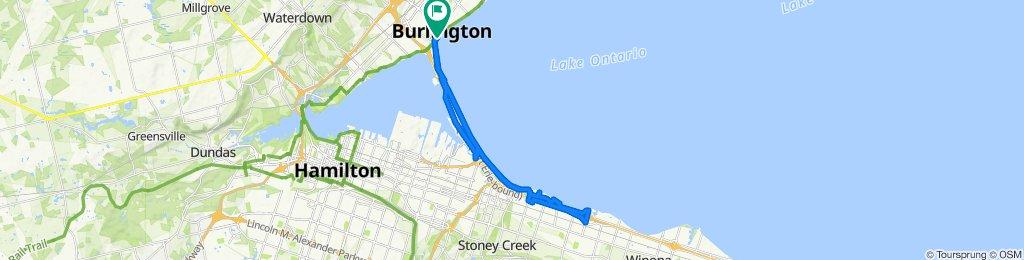 Slow ride in Burlington