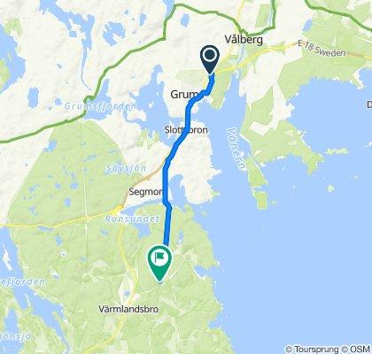 Nyängsgatan 1 to Mässviksvägen