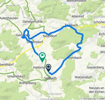 Easy ride in Seßlach