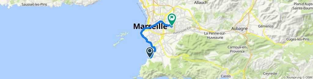 De 30 Place Joseph Vidal, Marseille à 184 Rue du Docteur Cauvin, Marseille