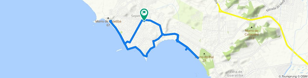 De Estrada do Piaí, 4873, Rio de Janeiro a Rua Lea de Souza Alves, 475, Rio de Janeiro