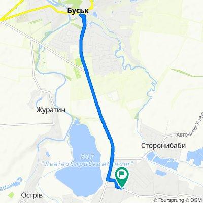 Заводська вул., Красне to Заводська вул., Красне