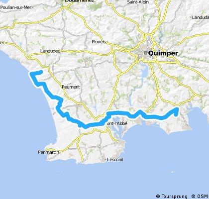 Bretagne 2010 - 1.Etappe Lesneut - Fouesnant
