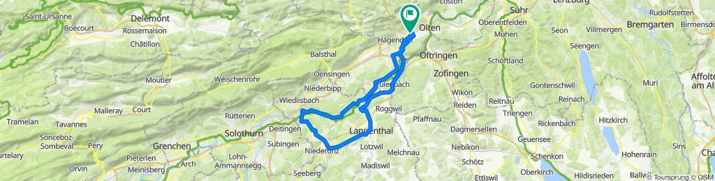 Langenthal, Herzogenbuchsee,Wangen