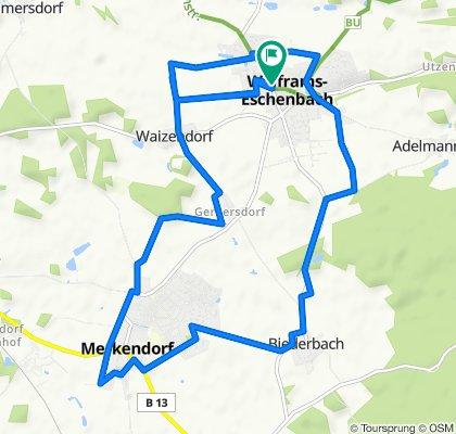 Easy ride in Wolframs-Eschenbach