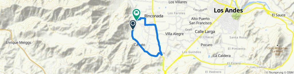 De E-869, Rinconada a E-847 472, Rinconada