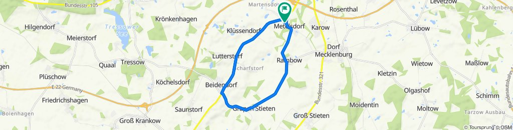 Cracking ride in Metelsdorf