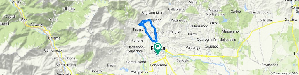 Easy ride in Biella