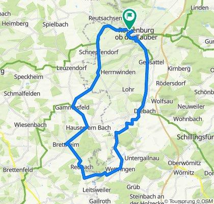 Rothenburg-Tauberquelle