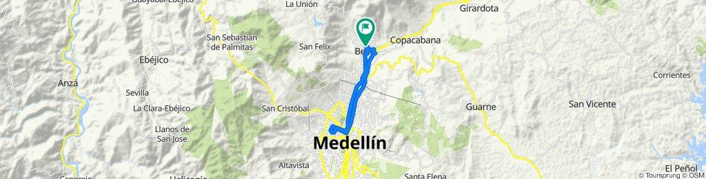 De Carrera 48, Medellín a Carrera 48, Medellín