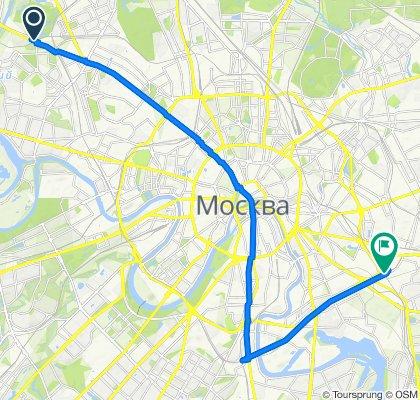 Неторопливый маршрут в Москва