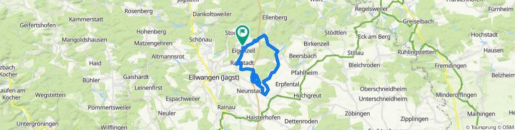 Hornbergstraße 41, Ellwangen (Jagst) nach Hornbergstraße 41, Ellwangen (Jagst)
