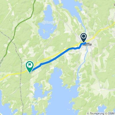Järnvägsgatan 4 to Unnamed Road