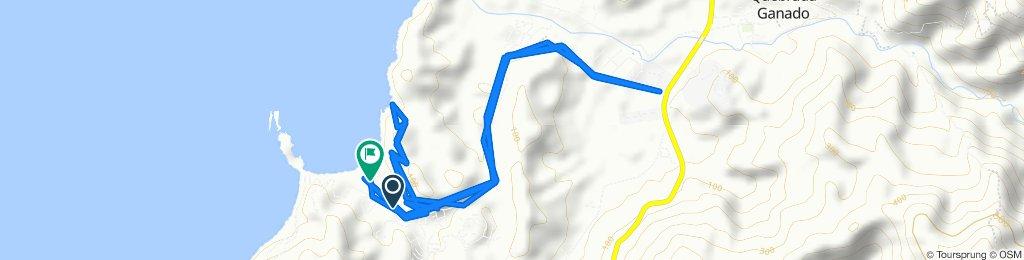 Restful route in Garabito