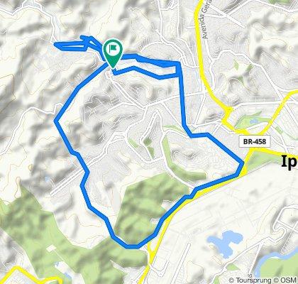 Steady ride in Ipatinga