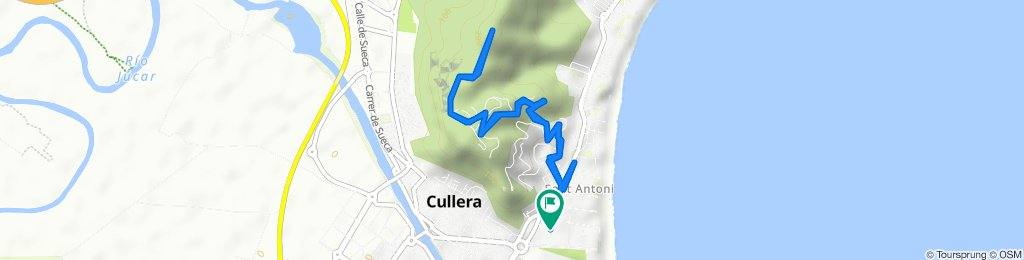 De Calle del Maestro Serrano, 2, Cullera a Calle del Maestro Serrano, 29D, Cullera