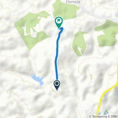 Moderate route in Lagoa Seca