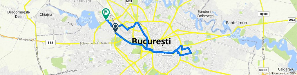 Easy ride in Bucharest