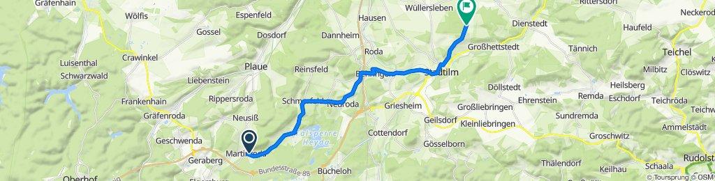 Pinienweg 3, Martinroda nach Am Felsenkeller, Witzleben