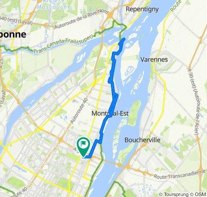 De 7224 Rue de Marseille, Montréal à 2970 Rue du Trianon, Montréal