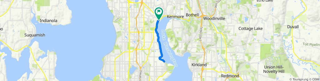 BG Lake Forest to Sand Point