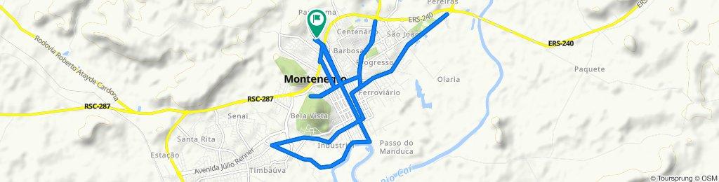 Easy ride in Montenegro