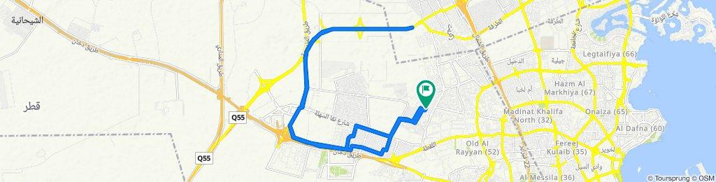 Blistering ride in Al Rayyan
