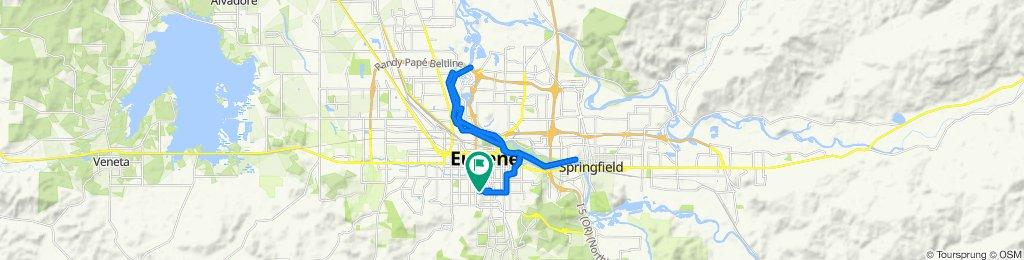 424 W 23rd Ave, Eugene to 424 W 23rd Ave, Eugene