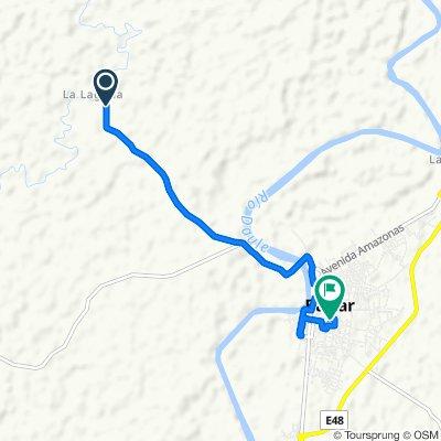 Easy ride in Balzar