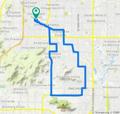 4106 E Larkspur Dr, Phoenix to 4106 E Larkspur Dr, Phoenix