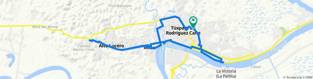 De Lucio Blanco 5, Túxpam de Rodríguez Cano a Calle 18 de Marzo LB, Túxpam de Rodríguez Cano