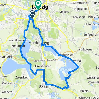 Leipzig - 5 Seentour