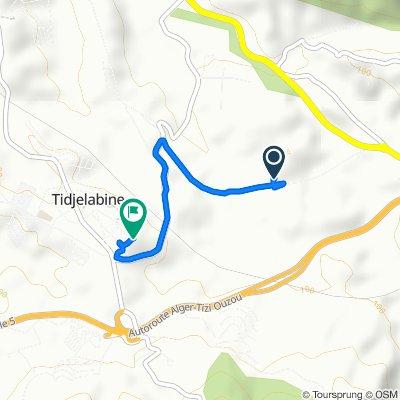 De Unnamed Road, Tidjelabine à Algérie, Tijelabin